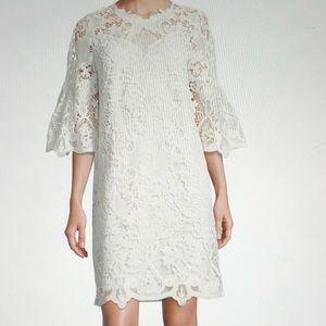 Kobi Halperin Lila Bell Sleeve lace dress